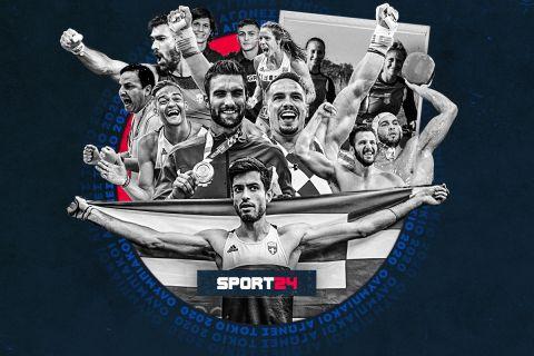 Το SPORT24 πήρε το χρυσό! Όλοι οι Έλληνες Ολυμπιονίκες μίλησαν στο κορυφαίο αθλητικό site