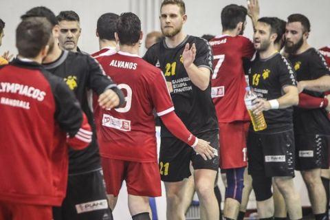 Το πρόγραμμα των τελικών μεταξύ Ολυμπιακού και ΑΕΚ στην Handball Premier