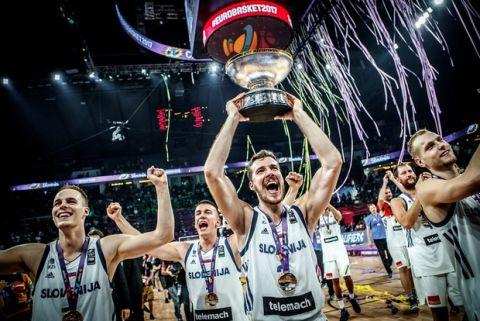 Η Σλοβενία κατέκτησε αήττητη το Eurobasket 2017