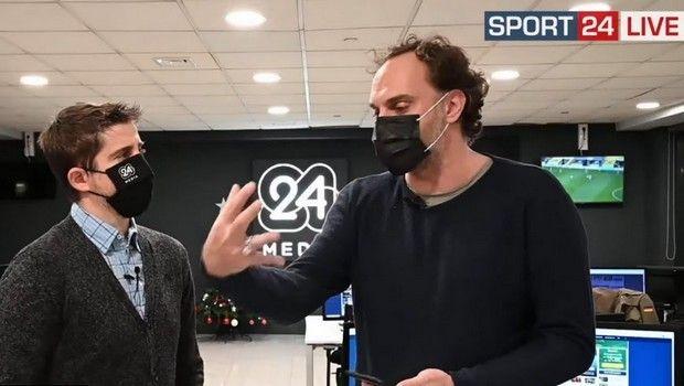 Διαμαντόπουλος - Καίσαρης για την πρόκριση του Ολυμπιακού στους