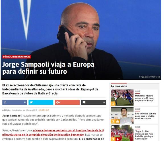 «Στην Ελλάδα για ΑΕΚ ο Σαμπαόλι