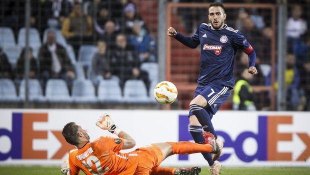 Βαθμολογία UEFA: Μόνο ο Ολυμπιακός έδωσε βαθμούς, έχασε ευκαιρία για τη 13η θέση η Ελλάδα