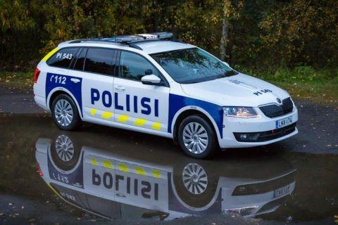Τα περιπολικά της SKODA στη Φινλανδία