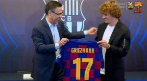 Μπαρτσελόνα: Ο Γκριεζμάν άφησε το 7 για το 17