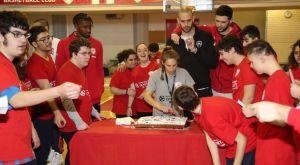 Ολυμπιακός: Όμορφες στιγμές και κοπή πίτας στο ONE Team της EuroLeague