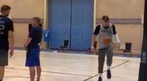 Ντόντσιτς όπως… Μέσι, έκανε ποδοσφαιρικά κόλπα με μπάλα του μπάσκετ