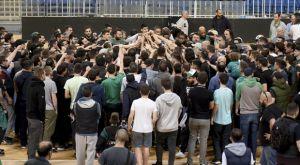 Παναθηναϊκός: Οπαδοί της ομάδας στο ΟΑΚΑ