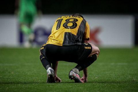 Ο Ολιβέιρα της ΑΕΚ μετά την ήττα από την Μπράγκα με 3-0