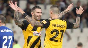 ΑΕΚ – Λαμία 2-0: Σβηστά με σούπερ Λιβάγια το δύο στα δύο