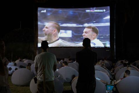 The Big Final: Το βράδυ του τελικού στην παραλία ήταν ποδοσφαιρικά μαγικό
