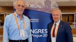 Πανηγυρική επανεκλογή Δημακου στην Ευρωπαϊκή ομοσπονδία στίβου