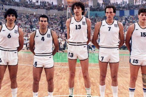 Σαν σήμερα: Ελλάδα - Σοβιετική Ένωση 103-101, η Εθνική στην κορυφή της Ευρώπης