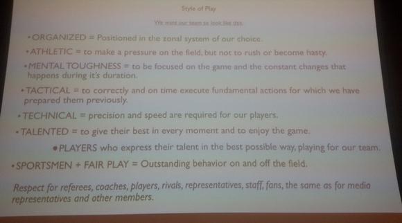 Οι σαράντα κανόνες του Παούνοβιτς γύρω από το ποδόσφαιρο