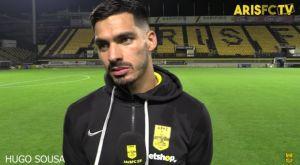 """Ούγκο Σόουζα: """"Το γήπεδό μας είναι η καλύτερη έδρα στην Ελλάδα"""""""