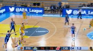 ABA Liga: Ο Μάρκο Λούκοβιτς πέτυχε buzzer beater από τα 20+ μέτρα