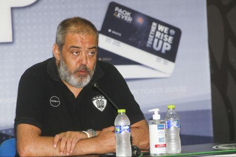 Ο πρόεδρος της ΚΑΕ ΠΑΟΚ, Θανάσης Χατζόπουλος