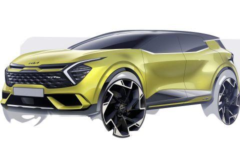 Πιο επιθετικό και περισσότερο fastback το νέο Kia Sportage