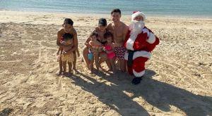 Χριστούγεννα στην παραλία ο Κριστιάνο Ρονάλντο