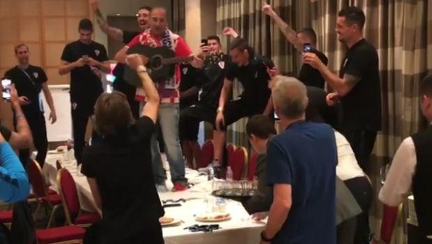 Το ξεφάντωμα στο ξενοδοχείο από τους Κροάτες