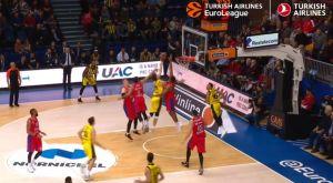 EuroLeague: Η τάπα του Χάινς ήταν καλύτερη από του Παπανικολάου