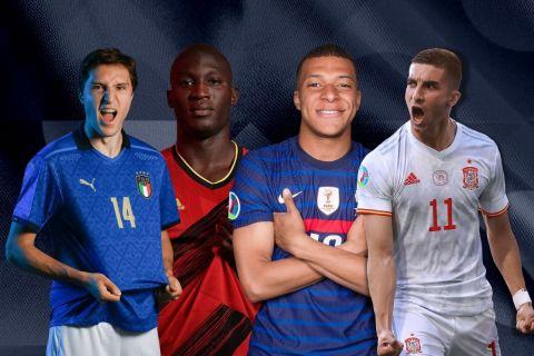 Nations League: Ιταλία - Ισπανία & Βέλγιο - Γαλλία με 0% γκανιότα* στη Stoiximan