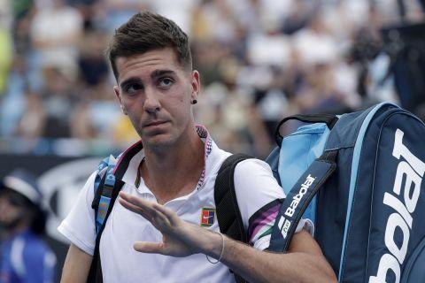 Ο Θανάσης Κοκκινάκης στο Αυστραλιανό OPEN του τένις