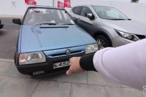 Champions League: Ταξίδεψε στη Μαδρίτη με αυτοκίνητο των 45 ευρώ