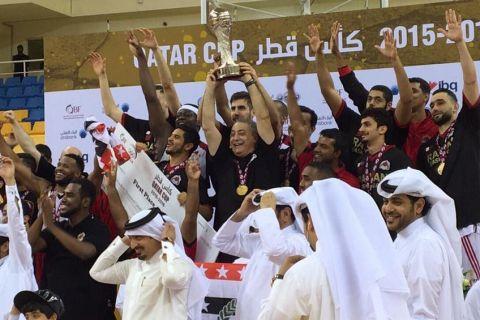Έκανε το νταμπλ στο Κατάρ ο Κουφός