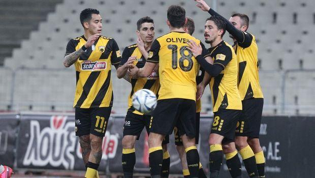 """ΑΕΚ - Παναιτωλικός 4-0: """"Σβηστά"""" στα ημιτελικά του Κυπέλλου"""
