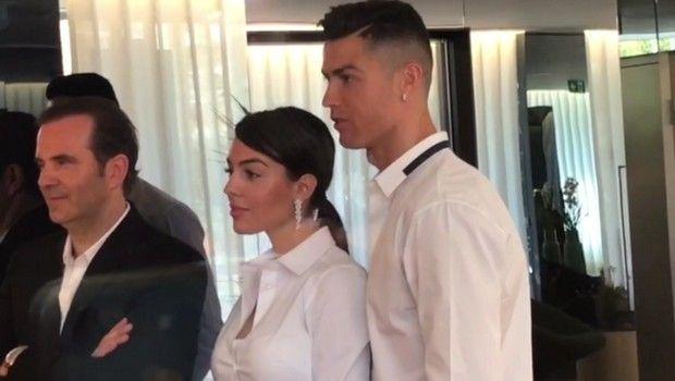 Αποθέωση για Ρονάλντο και Χεορχίνα στην Μαδρίτη!