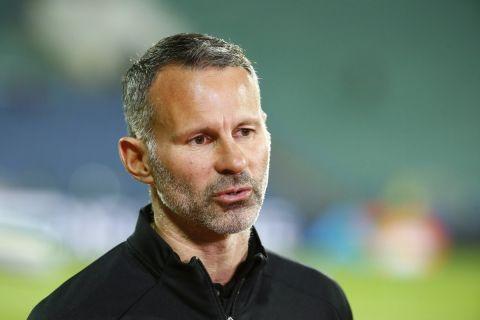 Ο Ράιαν Γκιγκς ως προπονητής της Εθνικής Ουαλίας