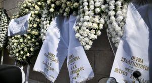 Θανάσης Γιαννακόπουλος: Στεφάνια από Αγγελόπουλους, Σπανούλη και ΚΑΕ Ολυμπιακός