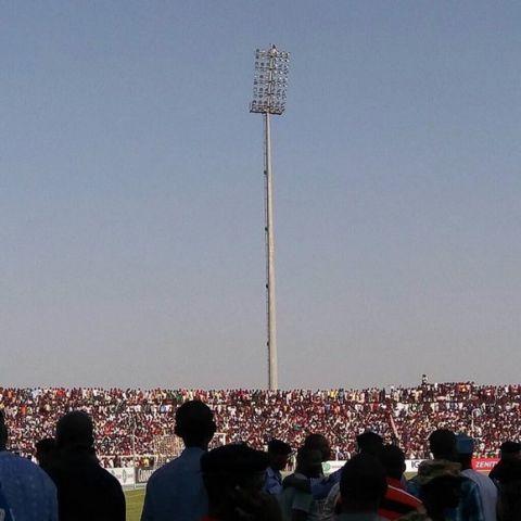 Μέχρι και στους προβολείς κάθισαν στο Νιγηρία - Αίγυπτος
