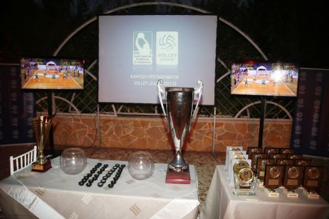 LIVE Streaming: Η κλήρωση της Volley League ανδρών και του League Cup
