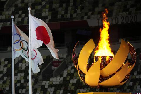 Η φλόγα των Ολυμπιακών Αγώνων