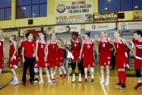 Στα προκριματικά της EuroLeague η γυναικεία ομάδα του Ολυμπιακού