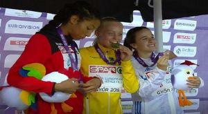 Χάλκινο μετάλλιο και πανελλήνιο ρεκόρ από την Καρύδη