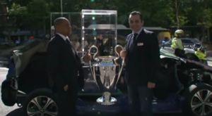 Στη Μαδρίτη βρίσκεται ήδη η Κούπα του Champions League