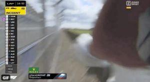 Formula 1: Έξοδος, καταστροφή και χτύπημα στην κάμερα από τον Κβίατ