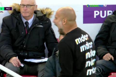 Μάντσεστερ Σίτι: Έκανε επίσημη καταγγελία για φτύσιμο οπαδού της Λίβερπουλ στους ανθρώπους του πάγκου