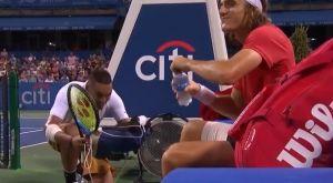 Τένις: Το πείραγμα του Κύργιου στον Τσιτσιπά