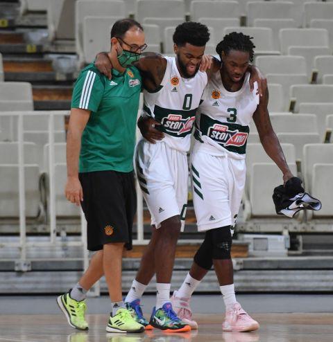 Ο Ντάριλ Μέικον αποχωρεί τραυματίας από το φιλικό ματς του Παναθηναϊκού με τη Ζενίτ