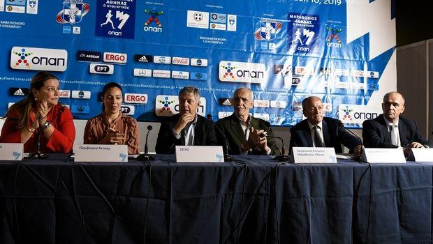 Ο 37ος ΑΜΑ ξεκίνησε με τα εγκαίνια της ERGO Marathon EXPO
