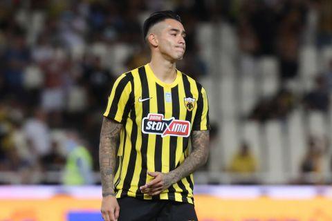 Ο Αραούχο απογοητευμένος από τον αποκλεισμό της ΑΕΚ από τη Βελέζ | 29 Ιουλίου 2021