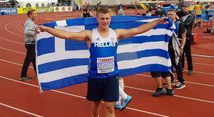 Ασημένιο μετάλλιο ο Φραντζεσκάκης στο Ευρωπαϊκό Πρωτάθλημα Κ20