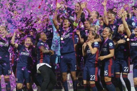 Η Λιόν κατέκτησε το Champions League γυναικών