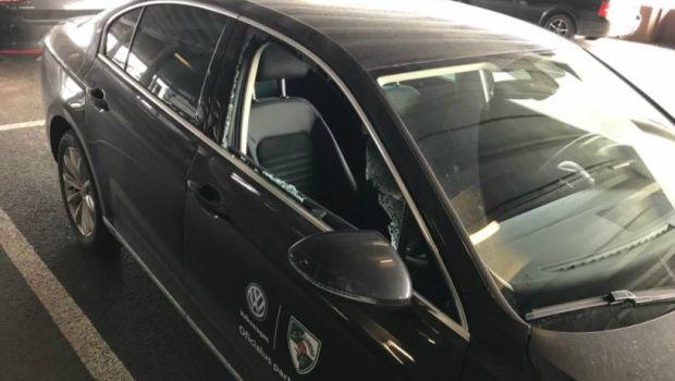 Έσπασαν το αμάξι του Τουπάν λίγο μετά το 2-1 επί του Ολυμπιακού