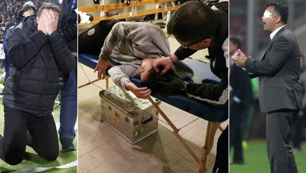 Προτείνουν μη διακοπή αγώνα σε περίπτωση τραυματισμού!