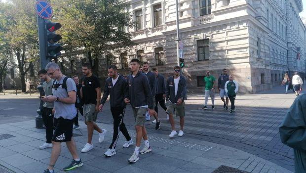 Παναθηναϊκός: Χαλάρωση με βόλτα στο Βίλνιους