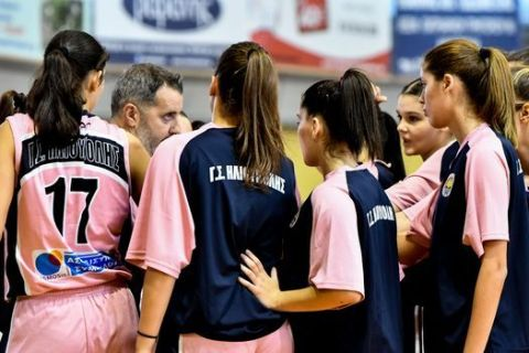 Οι παίκτριες της Ηλιούπολης από αγώνα Κυπέλλου με την ΑΕΚ την σεζόν 2020/21